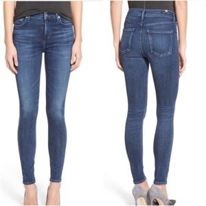 Citizens of humanity rocket crop high rise jeans
